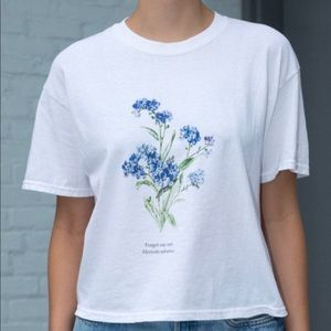 Brandy Melville forget me-not tee